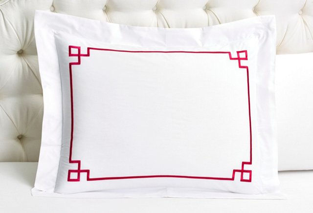 Fretwork Sham, Raspberry