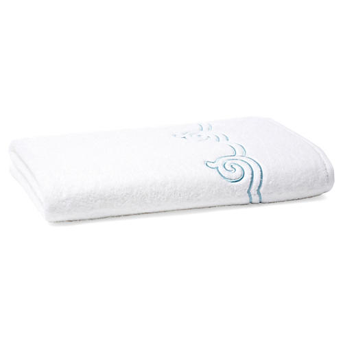 Serenity Bath Sheet, Cadet Blue