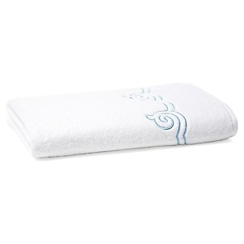 Serenity Bath Sheet, Cadet Blue