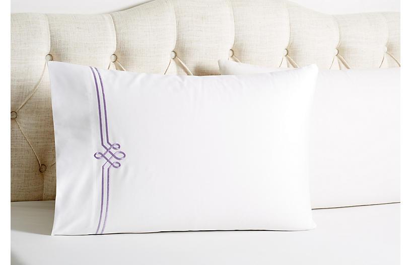 Set of 2 Loop Pillowcases, Tulip