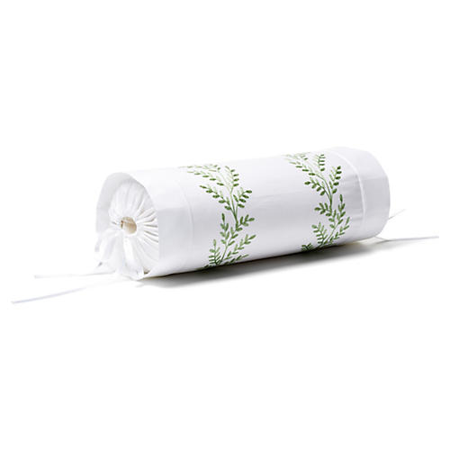 Willow Neckroll Sham, Green