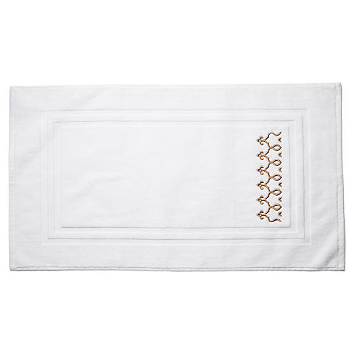Marrakesh Bath Mat, Rattan