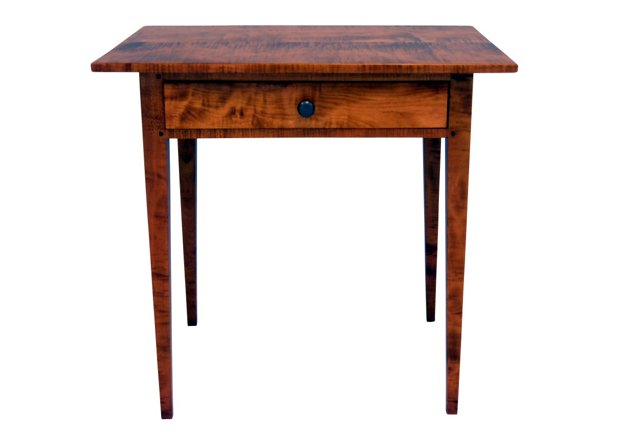 Large Lamp Table with Drawer