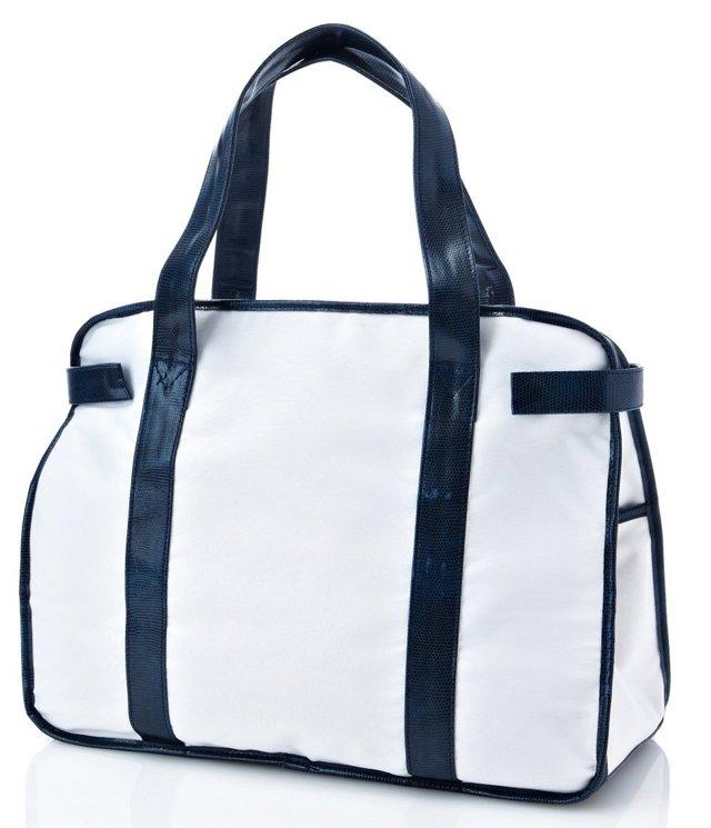 Seaport Bon Voyage Bag, Navy