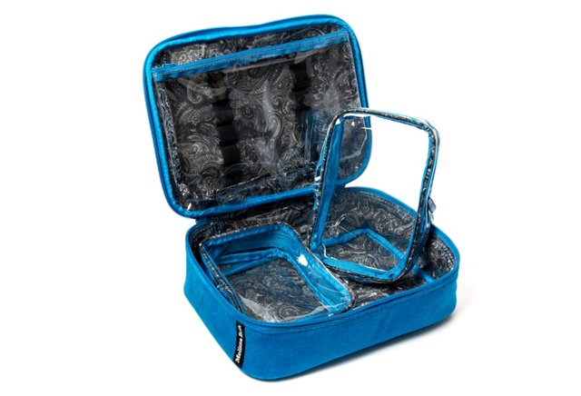 Cosmetic Case, Blue