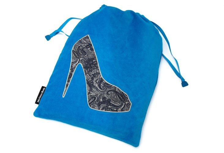 Shoe Bag, Blue