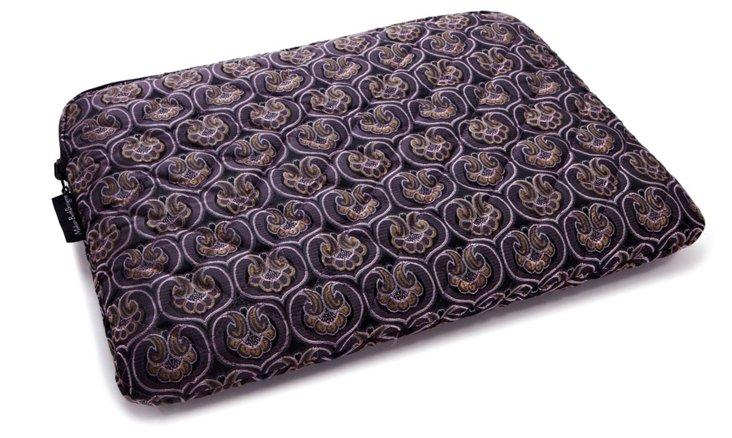 "15"" Luxe Laptop Sleeve, Purple"
