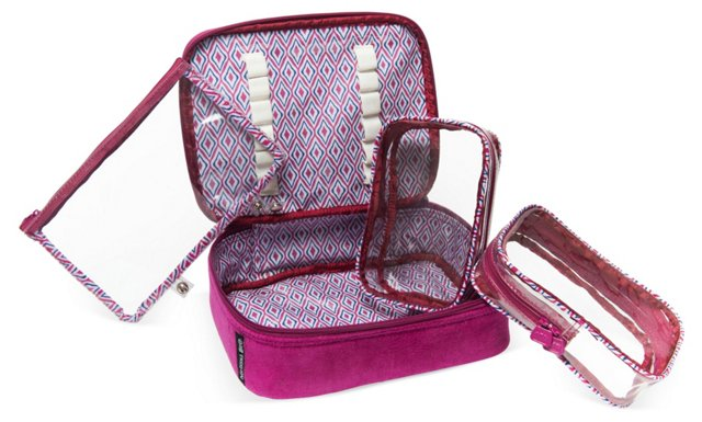 Cosmetic Case, Raspberry
