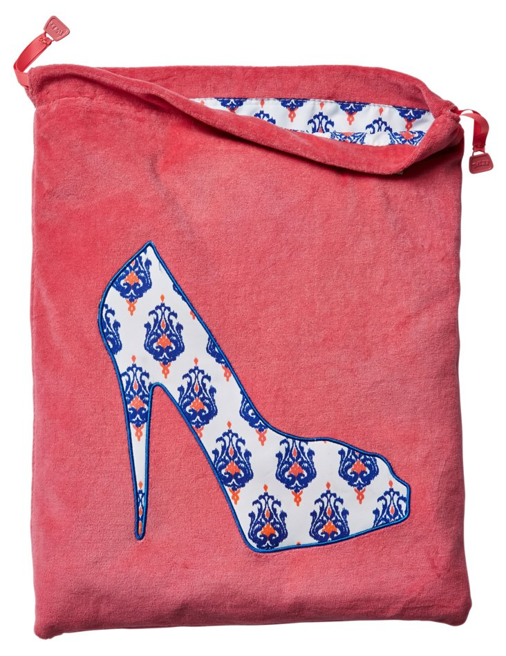 Shoe Bag, Pink