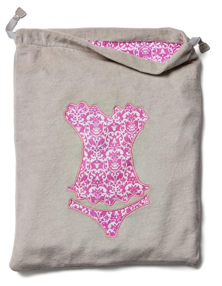 Lingerie Bag, Gray