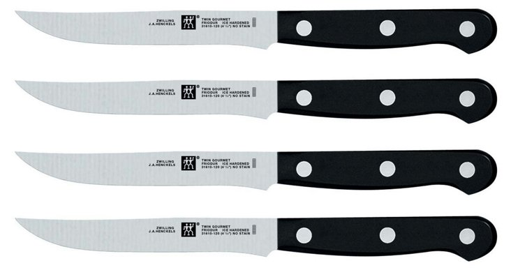 S/4 Gourmet Steak Knives