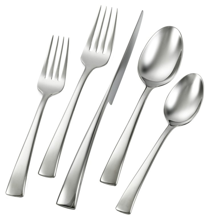 45-Pc Bellasera Flatware Set
