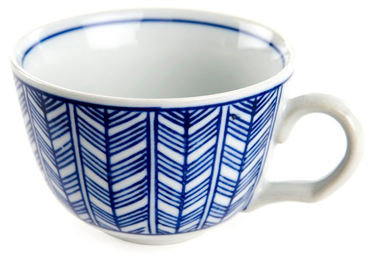 S/6  Feathery Cups