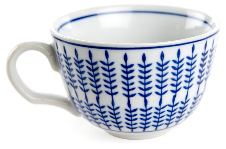 S/6  Leafy Cups