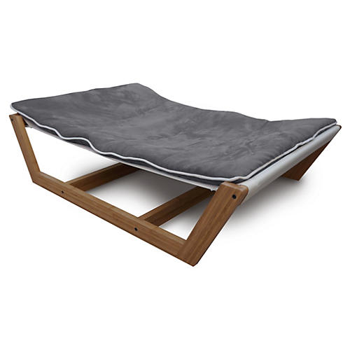 Bambu Pet Hammock, Gray