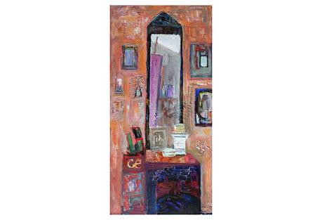 Murat Kaboulov, Interior w/ Mirror