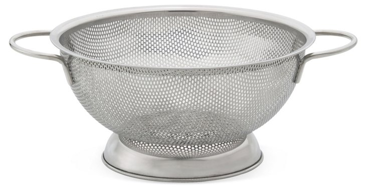 "8.5"" Double Handle Perforated Colander"