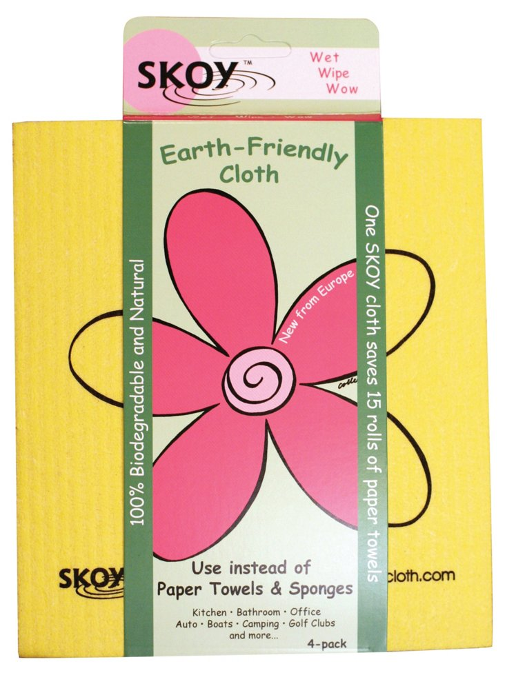 S/3 Skoy Cleaning Cloths