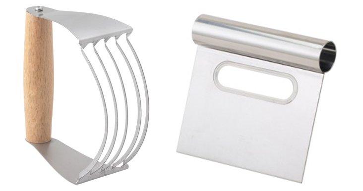 2-Pc Pastry Cutter & Blender Set