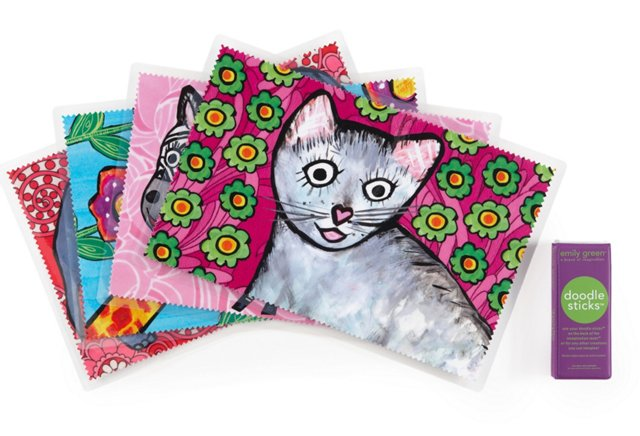 Animals Mat Set, Pink