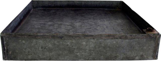 Square Zinc Tray