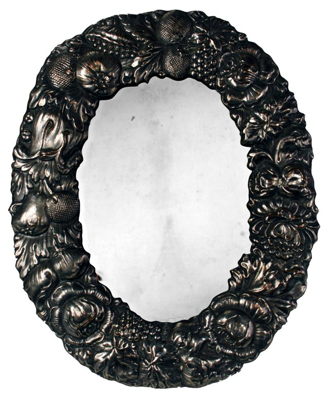 Antique Sheffield Silver Frame