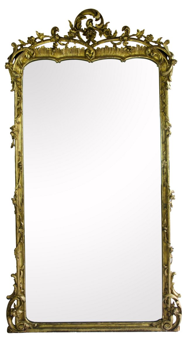Early 19th-C. French Mirror
