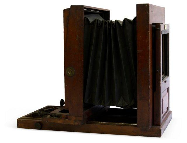 Large Antique Camera