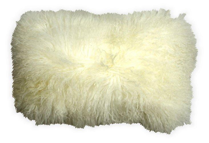 Mongolian Curly Lamb Pillow II