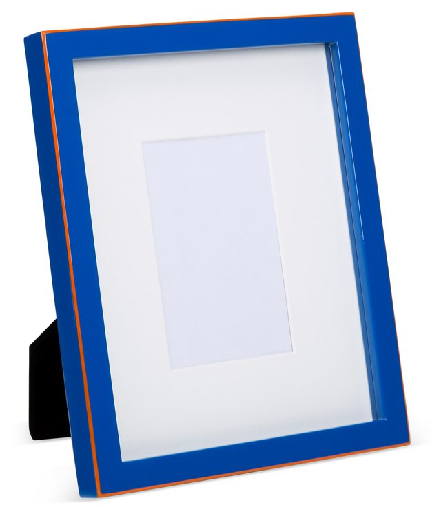 Lacquer Frame, 5x7, Blue