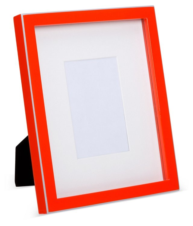 Lacquer Frame, 5x7, Red