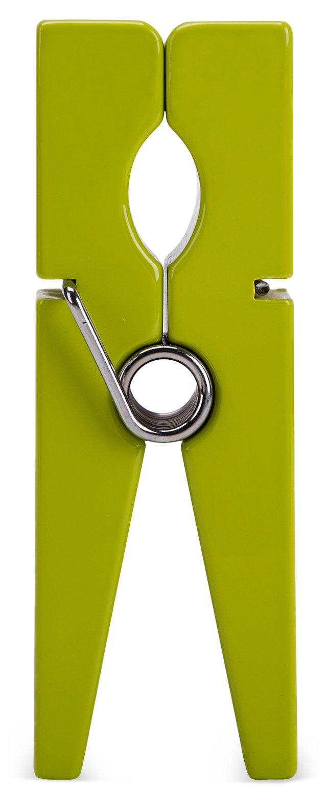 """6"""" Lacquer Clip, Green"""