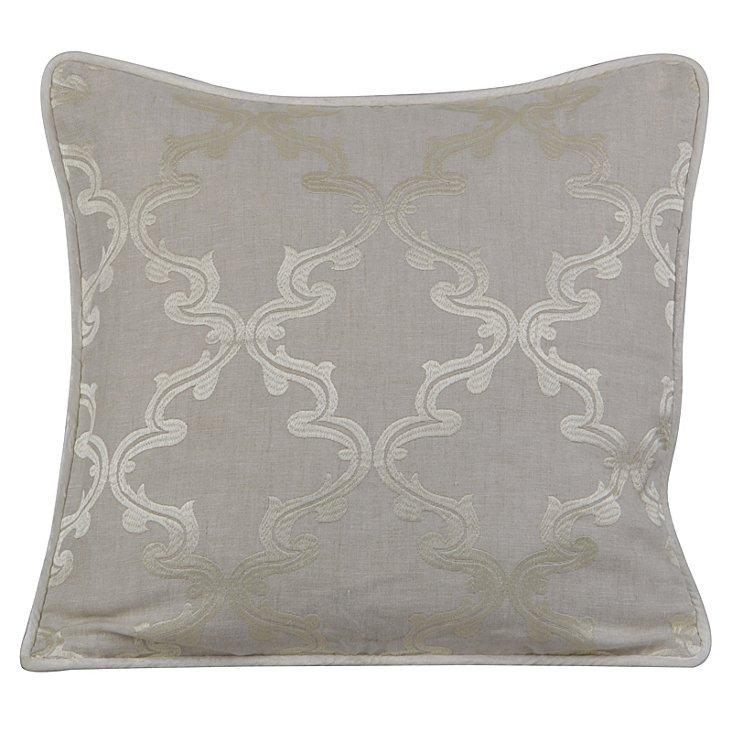 Charlotte 20x20 Pillow, Natural