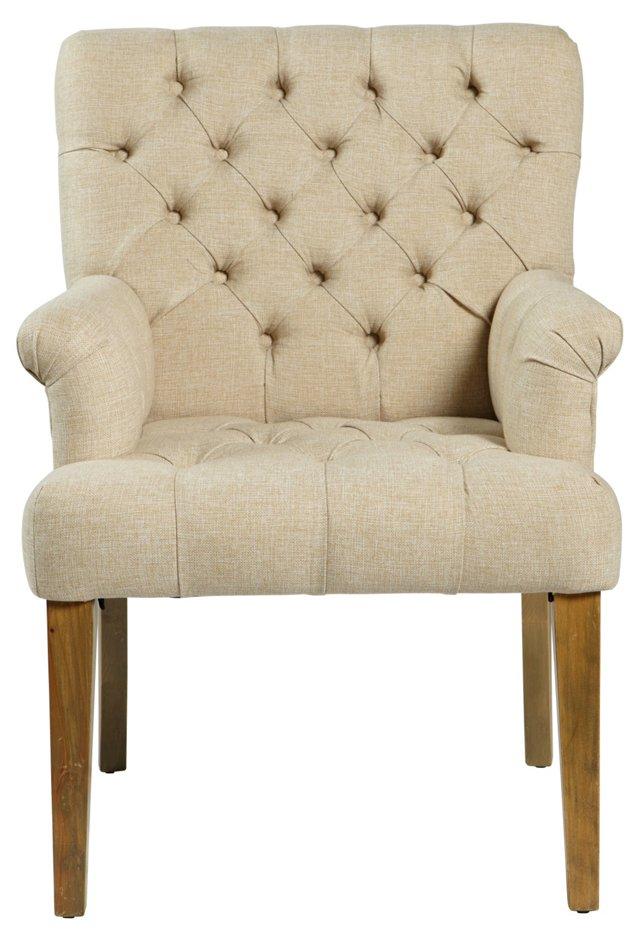 Clark Tufted Armchair