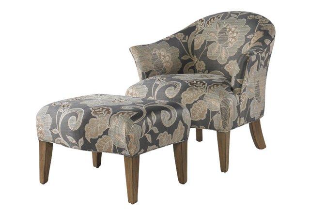 Arnett Chair & Ottoman