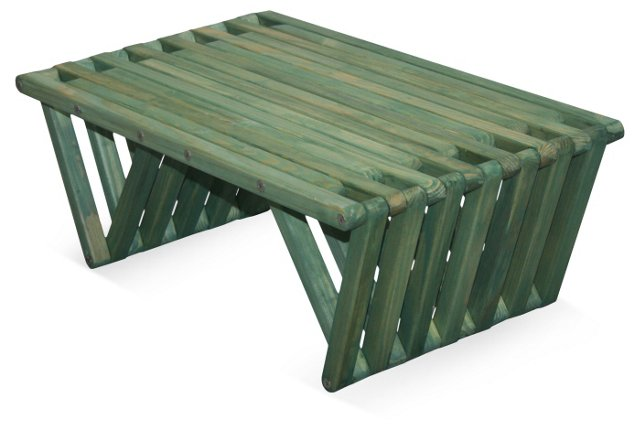 Concord Coffee Table, Green
