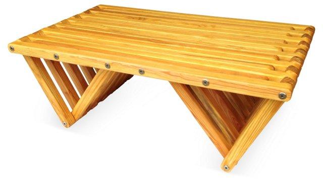 Concord Coffee Table, Honey