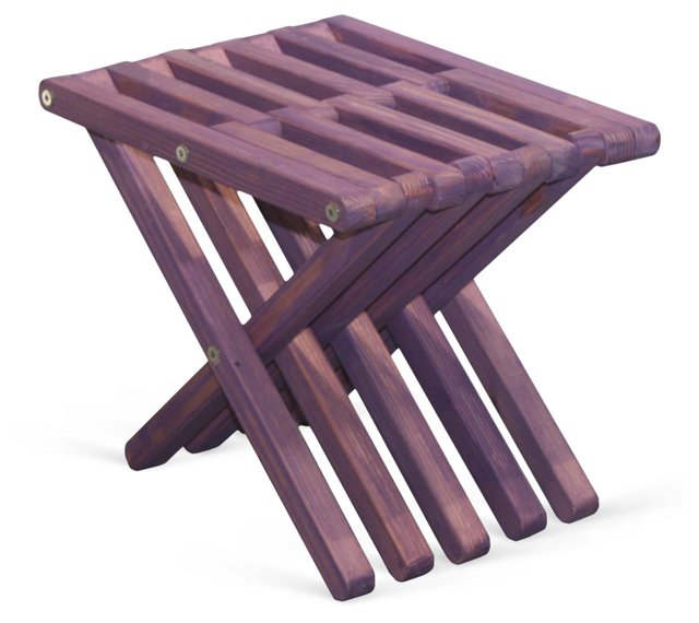 Cape Stool, Purple