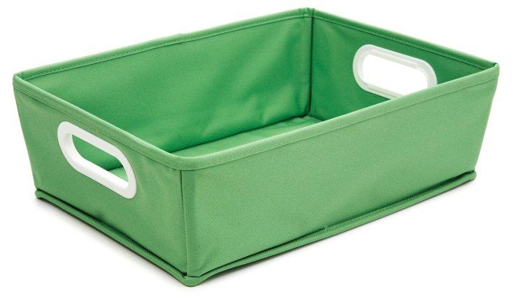 S/2 Sm. Tapered Bins, Green
