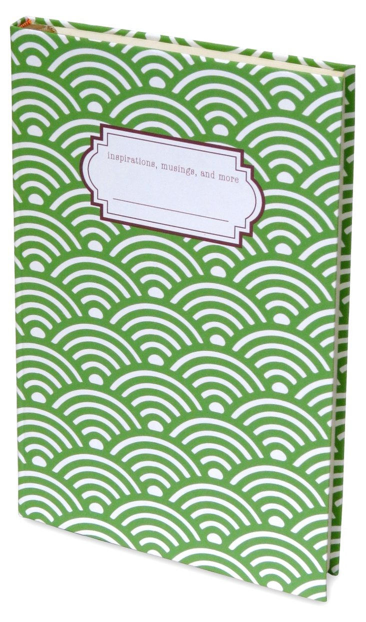 S/2 Geometric Brights Journals, Green
