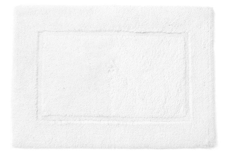 Egyptian Cotton Non-Slip Rug, White