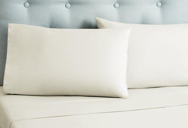 Pearl Cotton Sheet Set, Ivory