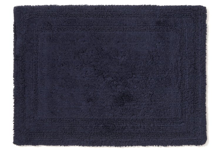 Cotton Reverse Rug Small, Ink