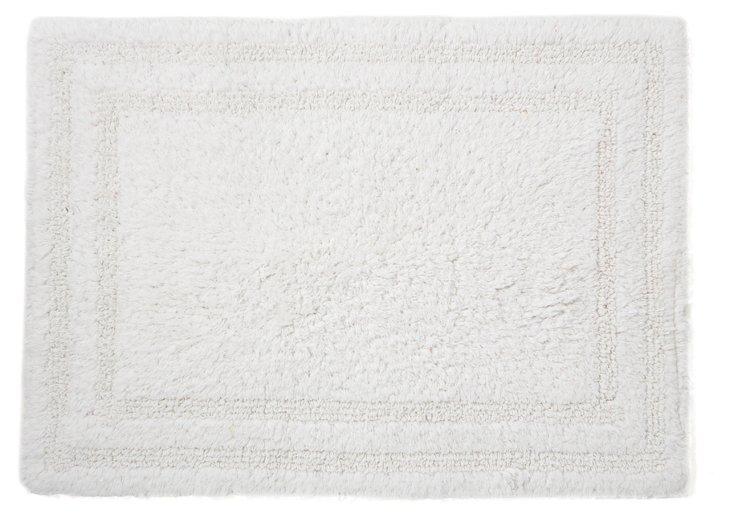 Cotton Reverse Rug, White