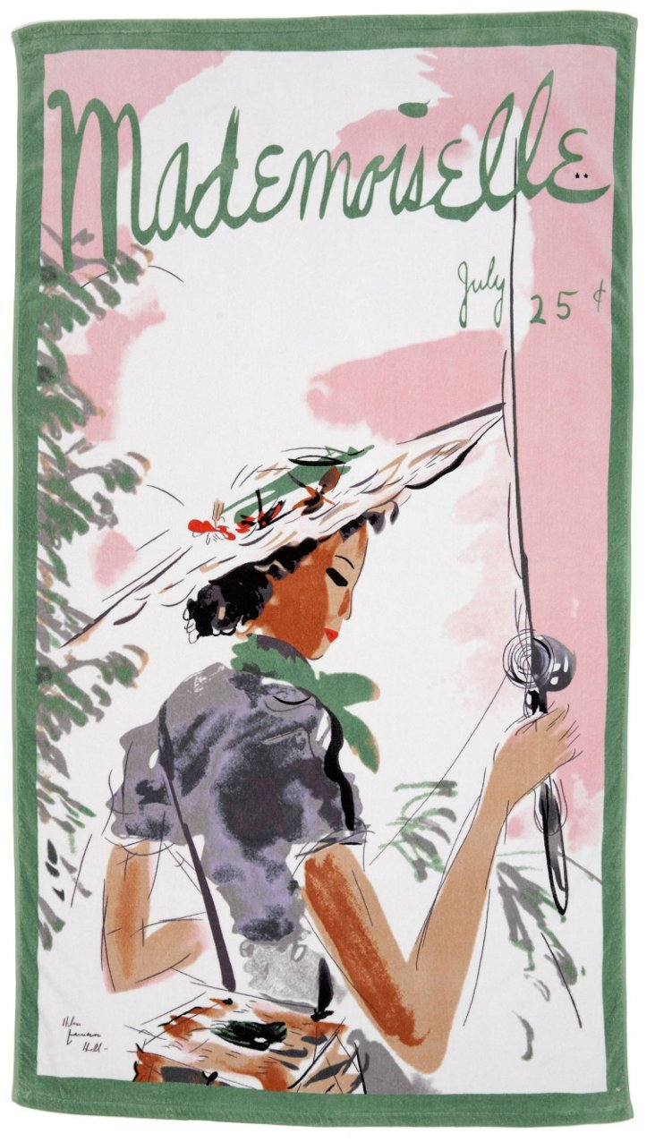 Condé Nast Beach Towel, Mademoiselle