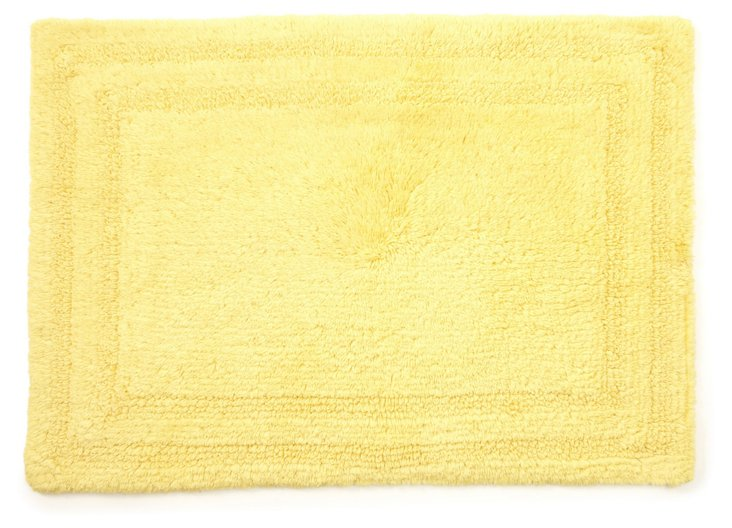 Cotton Reverse Rug, Canary
