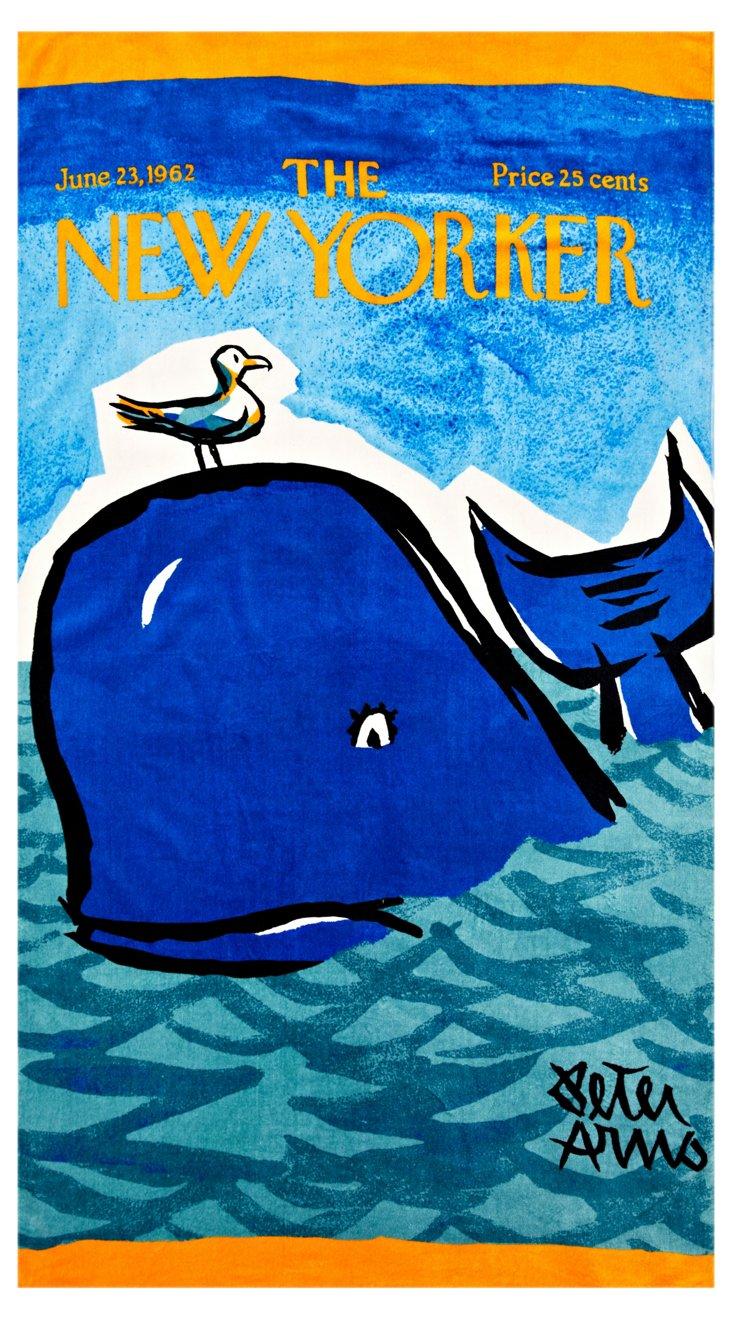 Condé Nast Beach Towel, Whale