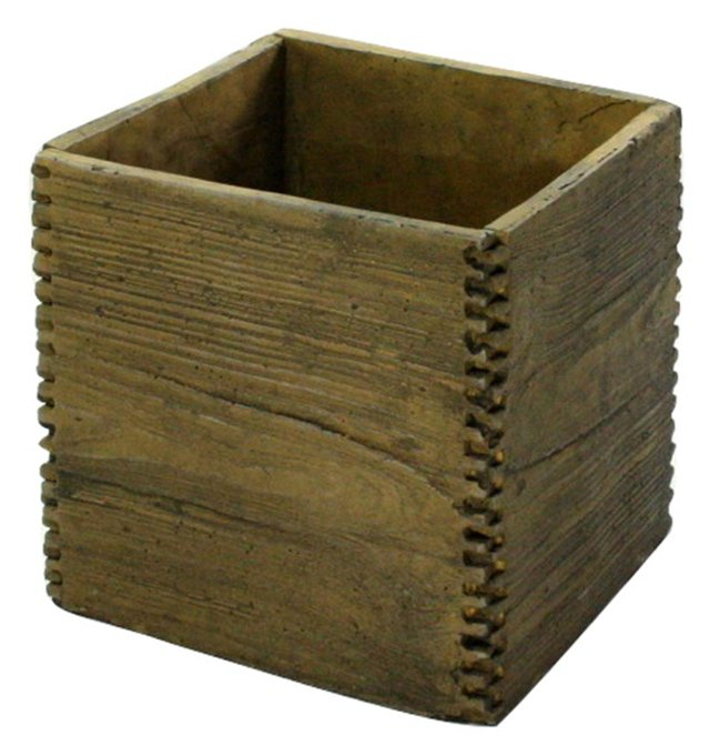 "7"" Square Box Joint Cement Crate"