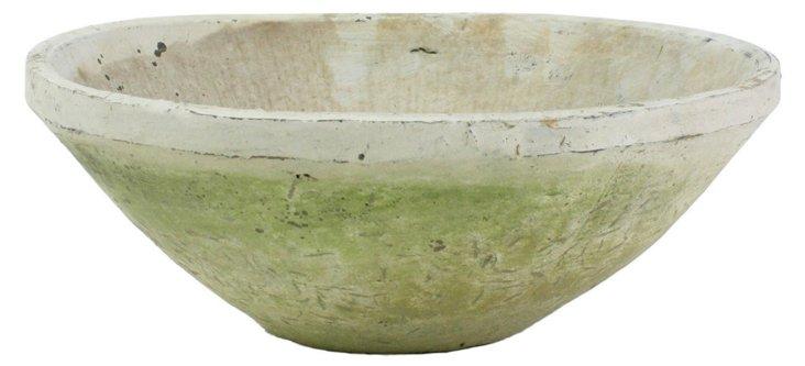 "10"" Rustic Terracotta Bowl"