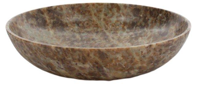 "6"" Trevor Soapstone Bowl, Brown"